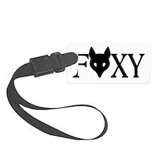 Foxy Luggage Tag