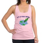 Froggy Dipping Racerback Tank Top