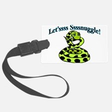 Let'ssss Ssssnuggle Luggage Tag