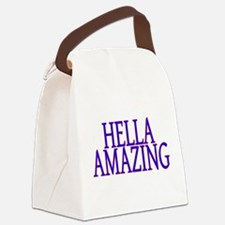 Hella Amazing Canvas Lunch Bag