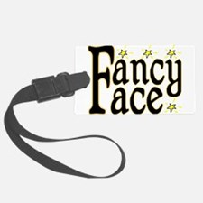 Fancy Face Luggage Tag