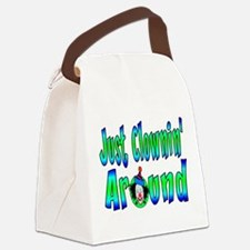Clownin Around Canvas Lunch Bag