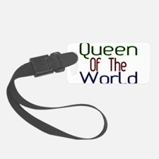 Queen Luggage Tag