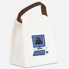 Game Junkie Canvas Lunch Bag