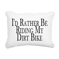 Unique Quad biking Rectangular Canvas Pillow