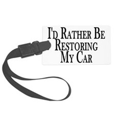 Rather Restore Car Luggage Tag