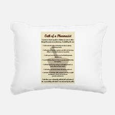 Pharmacist's Oath Rectangular Canvas Pillow