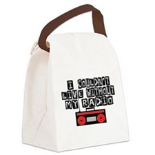 My Radio Canvas Lunch Bag