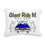 Ghost Ride It Rectangular Canvas Pillow