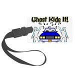 Ghost Ride It Large Luggage Tag