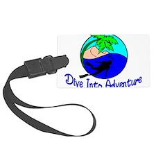Dive Into Adventure Luggage Tag