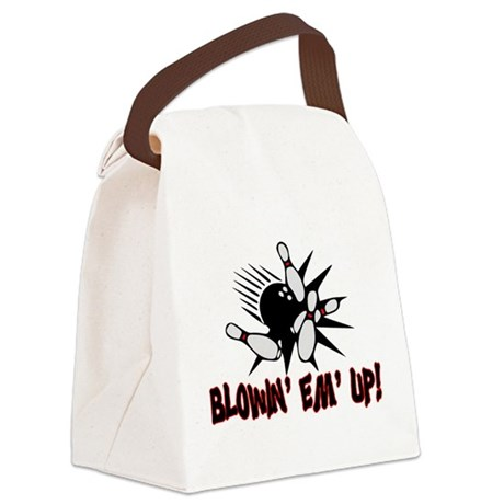 Blowin' Em' Up Canvas Lunch Bag