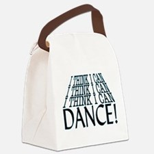 I Can Dance Canvas Lunch Bag