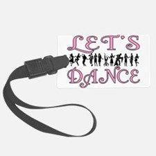 Let's Dance Luggage Tag
