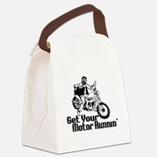 Motor Runnin Canvas Lunch Bag