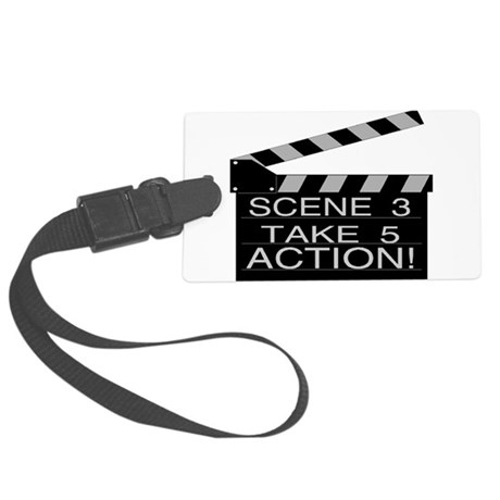 Action Large Luggage Tag