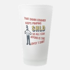 shld-white c2opy.png Frosted Drinking Glass
