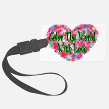 Color The World Luggage Tag