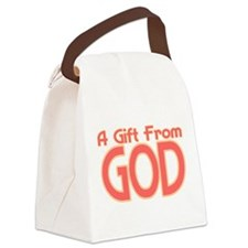 Gift From God Canvas Lunch Bag