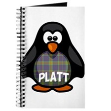 Platt Tartan Penguin Journal