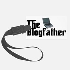 The Blogfather Luggage Tag