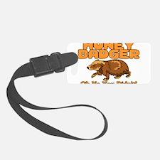 Oh No Honey Badger Luggage Tag