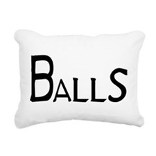 Balls Rectangular Canvas Pillow