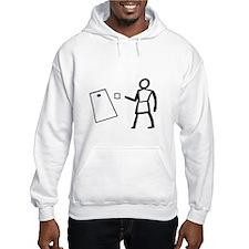 Hieroglyphic Writing Hoodie Sweatshirt