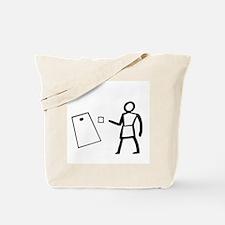 Hieroglyphic Writing Tote Bag