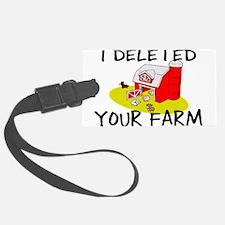 Deleted Farm Luggage Tag