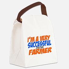 Online Farmer Canvas Lunch Bag