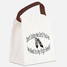 High Heels Canvas Lunch Bag