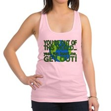 Get Out Of This World Racerback Tank Top