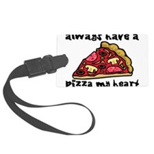 Pizza My Heart Luggage Tag