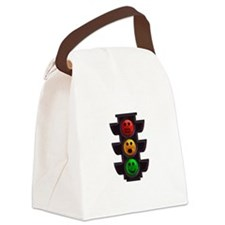 Mood Light Canvas Lunch Bag