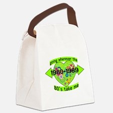 Going With The 80's Canvas Lunch Bag