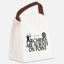 Archers On Point Canvas Lunch Bag