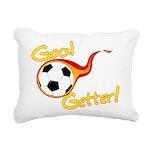 Goal Getter Rectangular Canvas Pillow