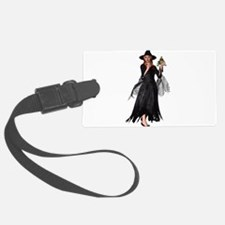 Witch Frog Luggage Tag