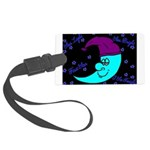 Sleepy Moonlight Large Luggage Tag