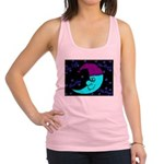 Sleepy Moonlight Racerback Tank Top