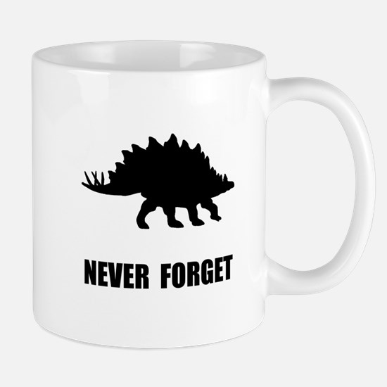 Never Forget Dinosaur Mug