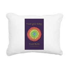 Trust Birth Labyrinth Rectangular Canvas Pillow
