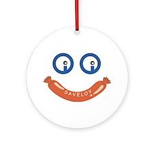 Oi Oi Saveloy ! Ornament (Round)