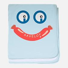 Oi Oi Saveloy ! baby blanket