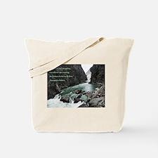 Wisdom Tells Me Tote Bag