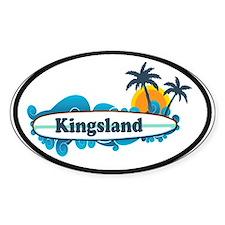 Kingsland GA - Surf Design. Stickers