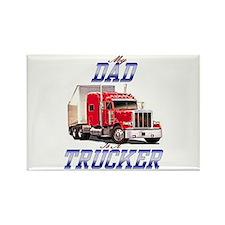 trucker kids Rectangle Magnet
