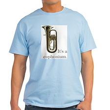 It's a Euphonium T-Shirt, light color choices