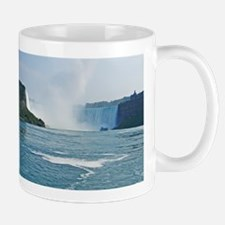 Horseshoe Falls And Boat Mug